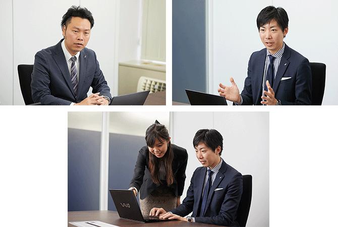 株式会社ecbeing 様インタビュー風景1