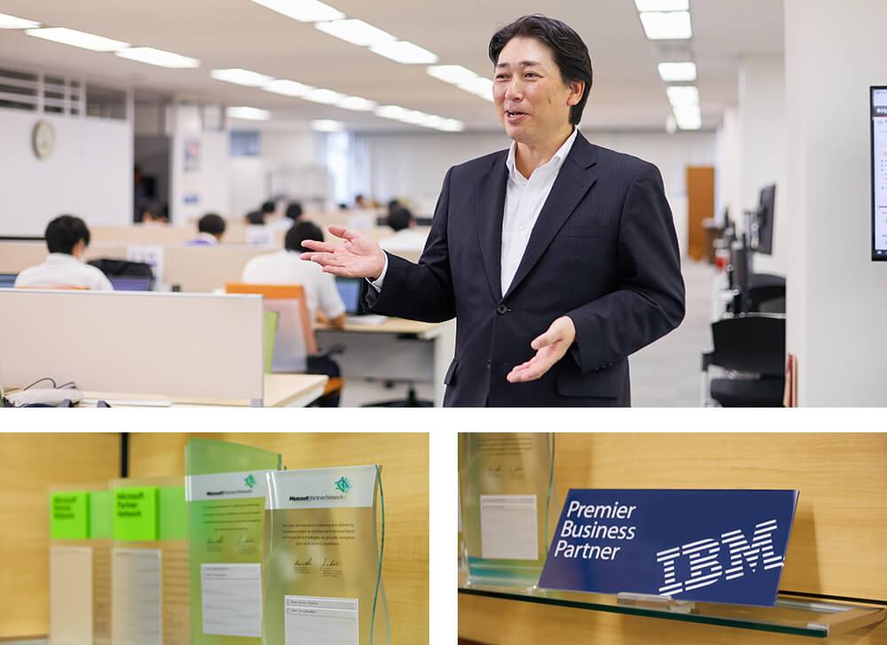 東京日産コンピュータシステム株式会社 様インタビュー風景1