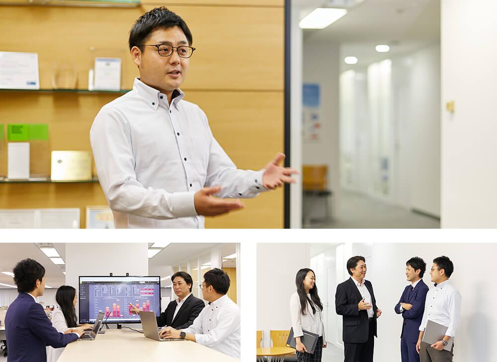 東京日産コンピュータシステム株式会社 様インタビュー風景3